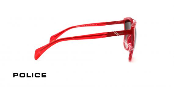 عینک آفتابی پلیس مدل wonder 1 - رنگ قرمز - عکاسی وحدت - زاویه کنار
