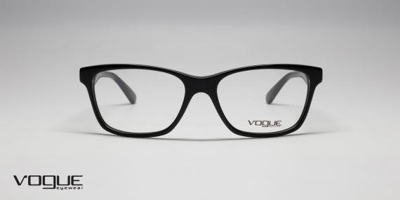 عینک طبی وگ - Vogue - VO2787 - رنگ مشکی - زاویه روبرو