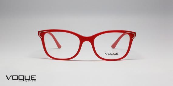 فریم طبی زنانه وگ - Vogue - VO5214 - زاویه روبرو - قرمز