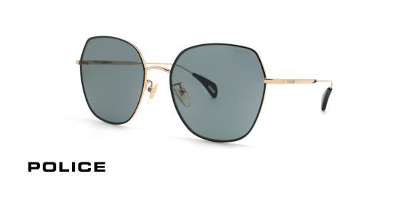 عینک آفتابی فلزی زنانه پلیس - POLICE FIREFLY SPL933 - عکاسی وحدت - عکس زاویه سه رخ