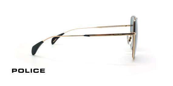 عینک آفتابی فلزی زنانه پلیس - POLICE FIREFLY SPL933 - عکاسی وحدت - عکس زاویه کنار