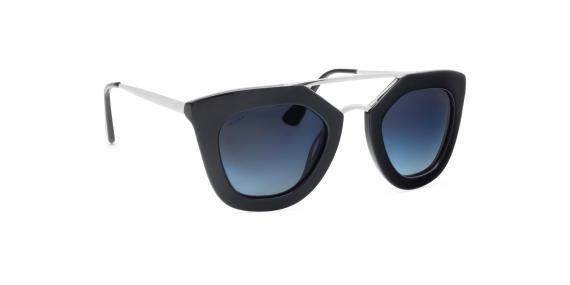 عینک آفتابی زینیا مدل Z8173 با کد رنگ 101GG زاویه چپ - عکاسی شده توسط اپتیک وحدت