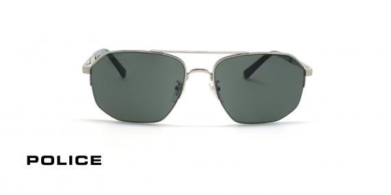 عینک آفتابی پلیس سری لوییز همیلتون - POLICE LEWIS05 SPLA25 - شیشه دودی- عکاسی وحدت - عکس زاویه روبرو