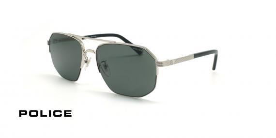عینک آفتابی پلیس سری لوییز همیلتون - POLICE LEWIS05 SPLA25 -شیشه دودی- عکاسی وحدت - عکس زاویه سه رخ