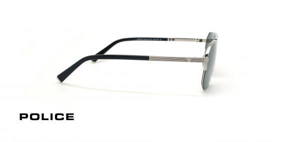 عینک آفتابی پلیس سری لوییز همیلتون - POLICE LEWIS05 SPLA25 - شیشه دودی-عکاسی وحدت - عکس زاویه کنار