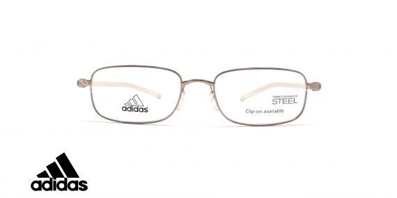 عینک طبی آدیداس فلزی مستطیلی- عکاسی وحدت- زاویه روبه رو