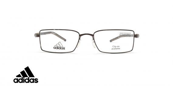 عینک طبی آدیداس - فلزی - فریم قهوه ای - زاویه رو به رو