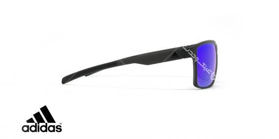 عینک آفتابی ورزشی آدیداس مدل 3MATIC - رنگ مشکی مات - عکاسی وحدت - زاویه کنار