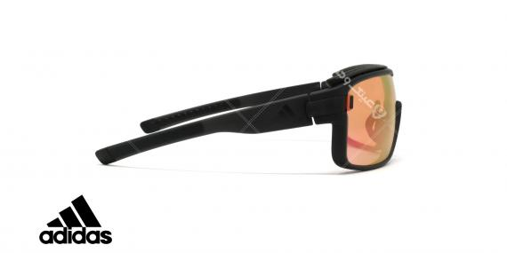 عینک آفتابی ورزشی آدیداس مدل zonyk pro - رنگ صورتی مات با عدسی های صورتی جیوه ای - عکاسی وحدت - زاویه کنار