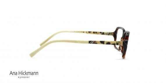عینک طبی کايوچویی آنا هیکمن -  Ana Hickmann AH6194 G21 - عکاسی وحدت - زاویه کنار