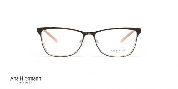 عینک طبی آنا هیکمن- قهوه ای طلایی- ویژه فروش آن لاین- عکس رو به رو