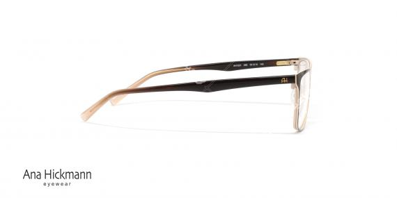 عینک طبی آنا هیکمن- قهوه ای طلایی- ویژه فروش آن لاین- عکس کنار