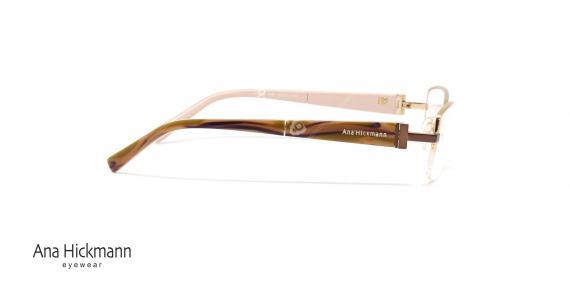 عینک طبی آنا هیکمن Ana Hickmann AH1268 - عکاسی وحدت - زاویه کنار