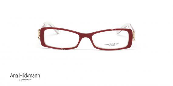 عینک طبی مستطیلی شکل آنا هیکمن Ana Hickmann AH6127 - عکاسی وحدت - زاویه رو به رو