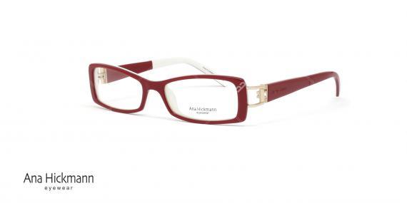 عینک طبی مستطیلی شکل آنا هیکمن Ana Hickmann AH6127 - عکاسی وحدت - زاویه سه رخ