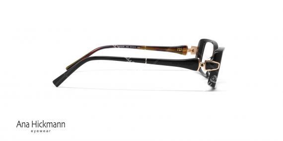 عینک طبی مستطیلی شکل آنا هیکمن Ana Hickmann AH6206 - عکاسی وحدت - زاویه کنار