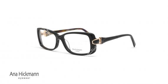 عینک طبی مستطیلی شکل آنا هیکمن Ana Hickmann AH6206 - عکاسی وحدت - زاویه سه رخ