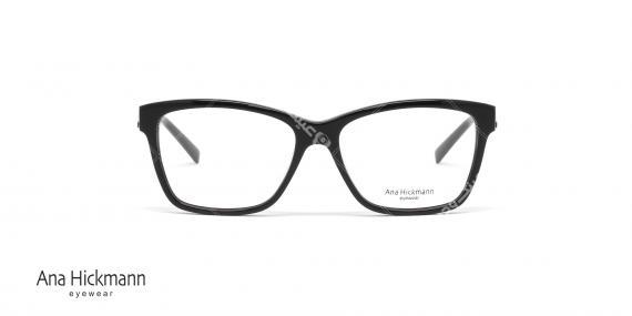 عینک طبی کائوچویی آنا هیکمن مشکی رنگ AH6222 - عکاسی وحدت - زاویه رو به رو