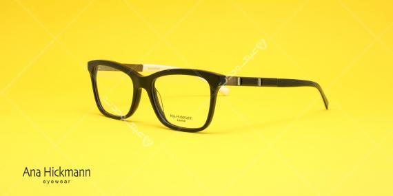 عینک طبی آنا هیکمن - رنگ مشکی - خرید آنلاین - عکاسی وحدت - زاویه سه رخ
