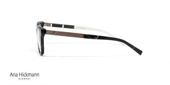 عینک طبی آنا هیکمن - رنگ مشکی - خرید آنلاین - عکاسی وحدت - زاویه کنار