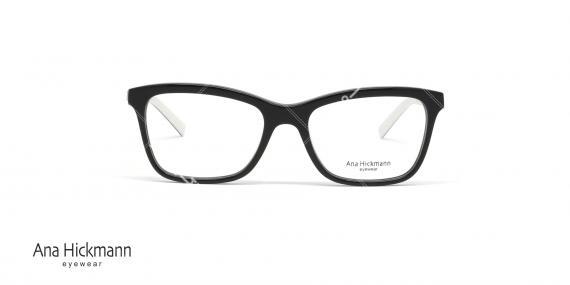 عینک طبی آنا هیکمن - رنگ مشکی - خرید آنلاین - عکاسی وحدت - زاویه رو به رو