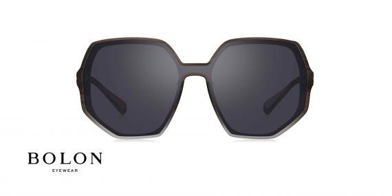 عینک آفتابی چندضلعی زنانه بولون - BOLON BL3025 - عکاسی وحدت - عکس زاویه روبرو