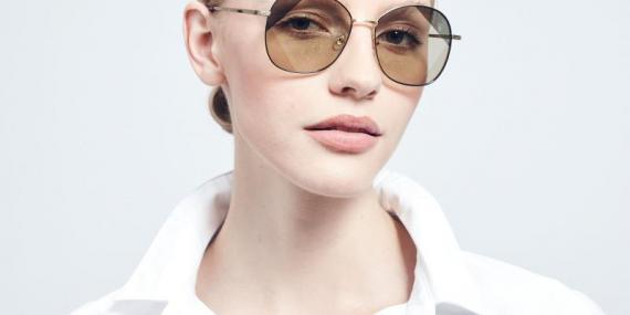عینک آفتابی پروانه بولون - BOLON BL7056 - طلایی مشکی - عکاسی وحدت