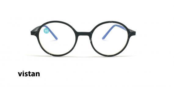 عینک آماده بلوکنترل ویستان VISTAN OB1301 - مشکی - عکاسی وحدت - زاویه روبرو