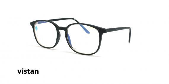 عینک آماده بلوکنترل ویستان VISTAN OB1001 - مشکی - عکاسی وحدت - زاویه سه رخ