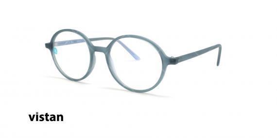 عینک آماده بلوکنترل ویستان VISTAN OB1593 - آبی - عکاسی وحدت - زاویه سه رخ
