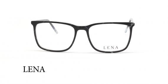 عینک طبی لنا - LENA LE416 - مشکی - عکاسی وحدت - عکس زاویه روبرو