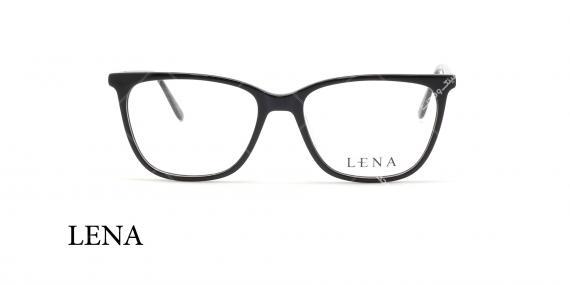 عینک طبی لنا - LENA LE412 - مشکی  - عکاسی وحدت - عکس زاویه روبرو