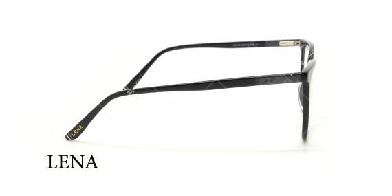 عینک طبی لنا - LENA LE412 - مشکی  - عکاسی وحدت - عکس زاویه کنار