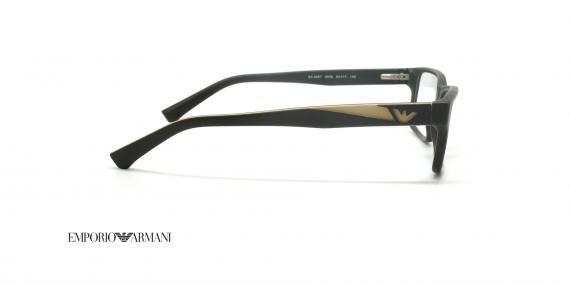 عینک طبی امپریو آرمانی - EMPORIO ARMANI EA3087 - عکاسی وحدت - عکس زاویه کنار