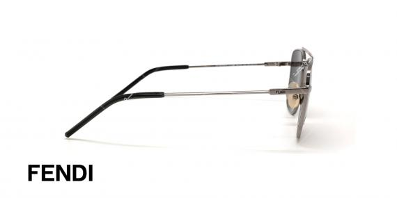 عینک آفتابی فندی - FENDI FFM0008S -عکاسی وحدت - عکس زاویه کنار