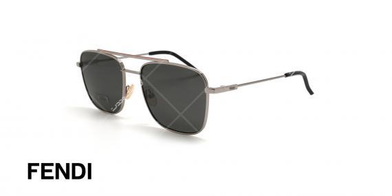 عینک آفتابی فندی - FENDI FFM0008S -عکاسی وحدت - عکس زاویه سه رخ
