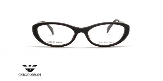 عینک طبی جورجیو آرمانی - GIORGIO ARMANI GA873 - رنگ مشکی -  عکاسی وحدت - عکس زاویه روبرو