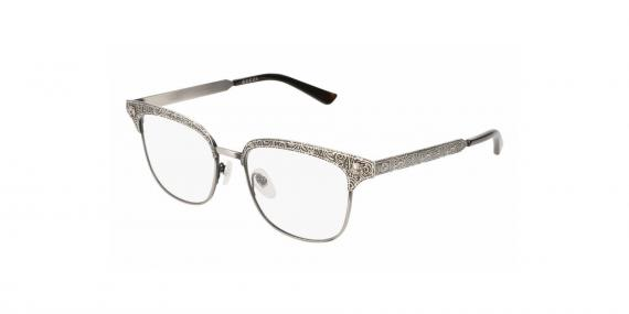 عینک طبی گوچی - مربعی شکل - فلزی - زاویه سه رخ