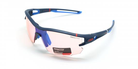عینک آفتابی ورزشی فتوکرومیک جولبو - عکاسی وحدت - زاویه سه رخ