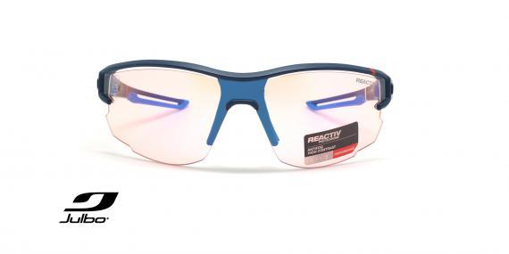 عینک آفتابی ورزشی فتوکرومیک جولبو - عکاسی وحدت - زاویه روبرو