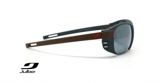 عینک آفتابی دسته چوب پولاریزه جولبو - مدل Regatta - عکاسی وحدت - زاویه کنار