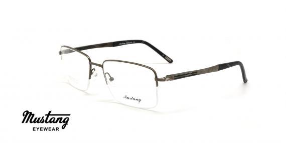 عینک طبی زیرگریف موستانگ - MUSTANG MU664 - عکاسی وحدت - عکس زاویه سه رخ