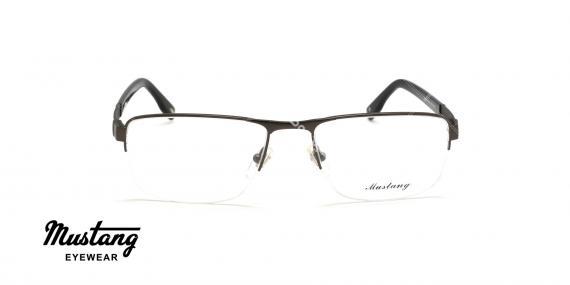 عینک طبی زیرگریف موستانگ - MUSTANG MU6846 - عکاسی وحدت - عکس زاویه روبرو