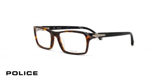 عینک طبی پلیس -  Police ALAMEDA VPL097 781M - عکاسی وحدت - زاویه سه رخ