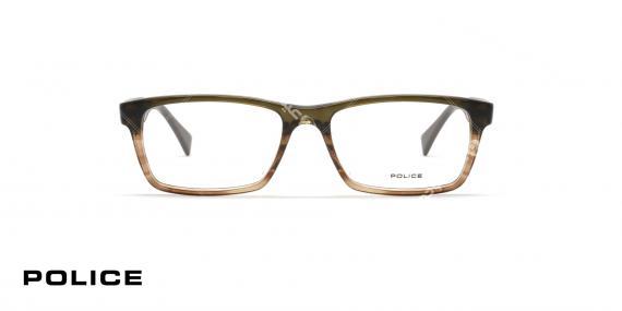 عینک طبی پلیس - Police Close up 2 v1919 0P90 - عکاسی وحدت - زاویه رو به رو