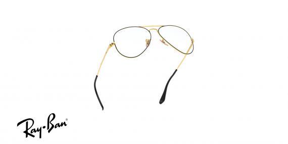 عینک طبی خلبانی ری بن - رنگ طلایی مشکی