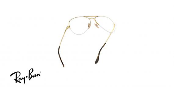 عینک طبی زیرگریف خلبانی ری بن - رنگ طلایی