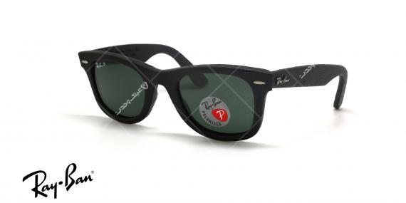عینک آفتابی چرمی ویفرر ریبن - Rayban LIMITED EDITION Wayferer RB2140-Q-M- عکاسی وحدت - عکس سه رخ
