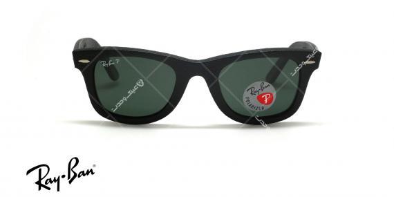 عینک آفتابی چرمی ویفرر ریبن - Rayban LIMITED EDITION Wayferer RB2140-Q-M- عکاسی وحدت - عکس زاویه روبرو
