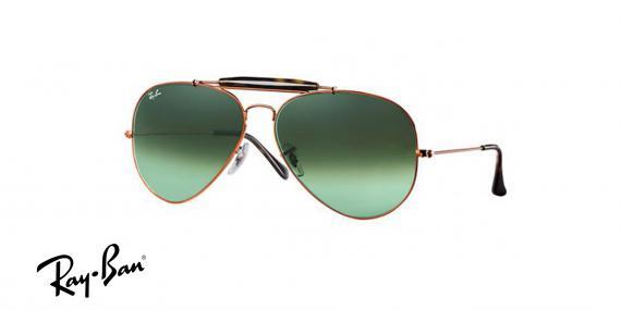 عینک آفتابی ری بن  RB3029- رنگ فریم مشکی و عدسی مشکی -  اپتیک وحدت - عکس از زاویه سه رخ